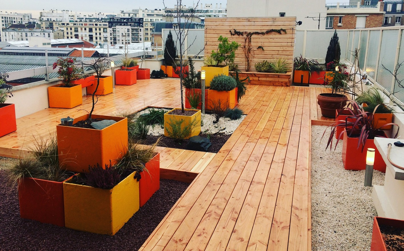 terrasse douglas origine auvergne top bois direct. Black Bedroom Furniture Sets. Home Design Ideas