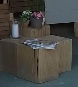 cube chêne