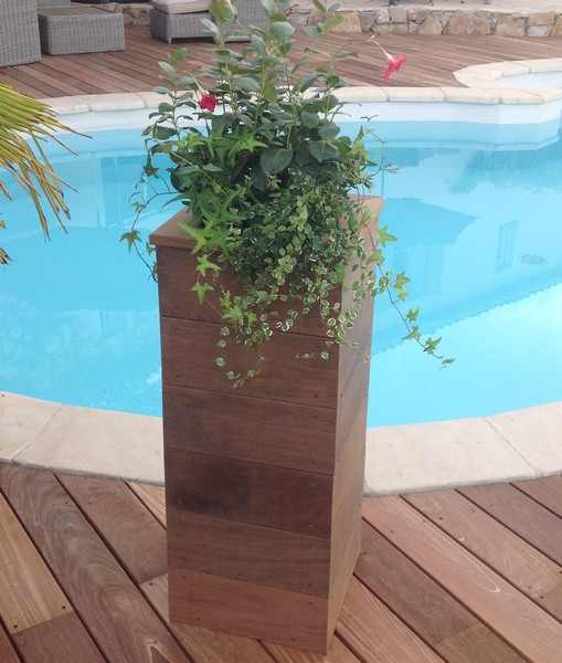 jardiniere ipe haute top bois direct. Black Bedroom Furniture Sets. Home Design Ideas
