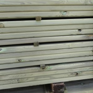 lame de terrasse pin traité vert 2ème choix