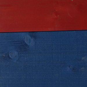 lambris sapin brossé peint