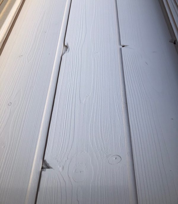 lambris blanc brossé BC
