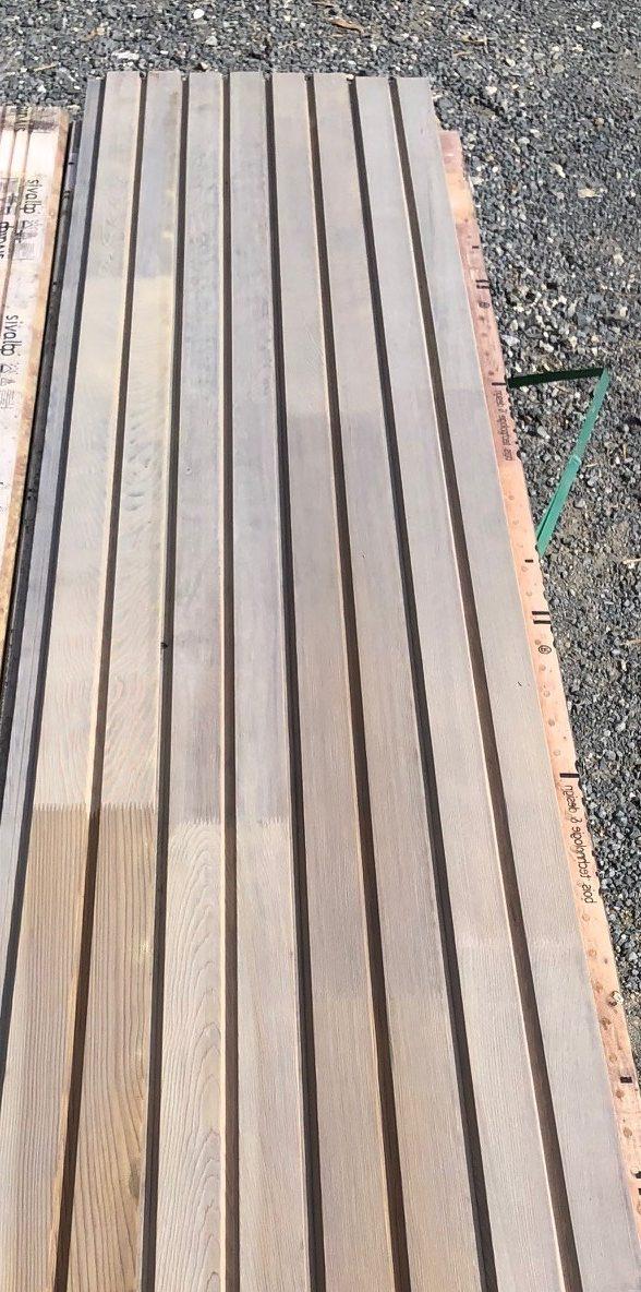 bardage red cedar clear II 27x125 mm
